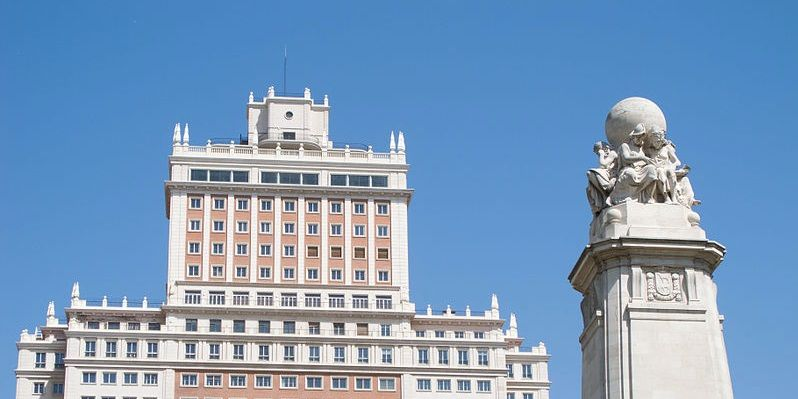 Panorámica del Edificio España | WIKIPEDIA