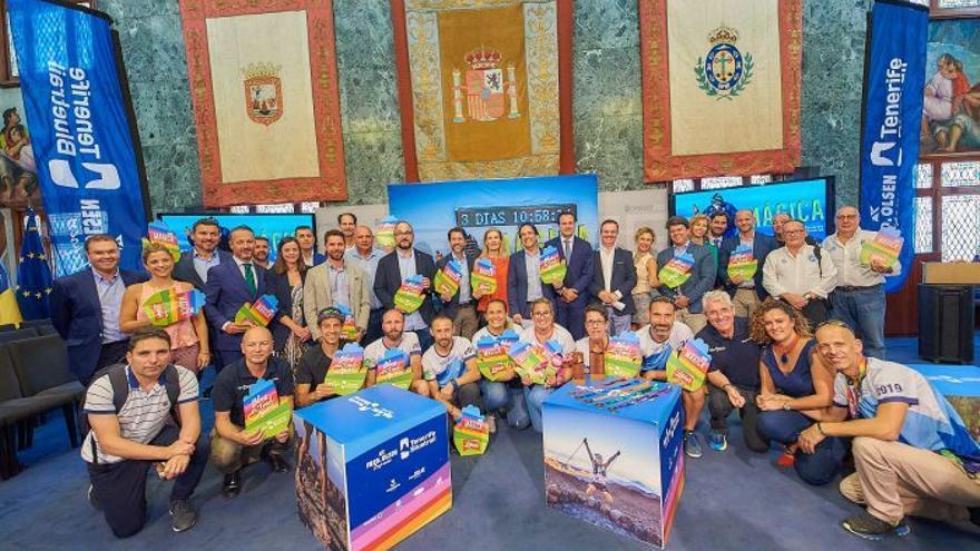 El acto de presentación de la Bluetrail tuvo lugar este martes en el Cabildo Insular