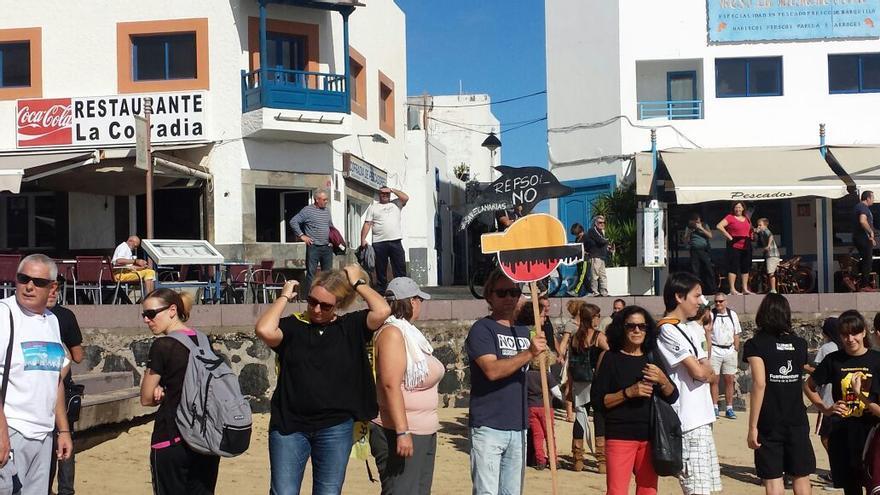 Concentración este domingo en Corralejo. | Movimiento Ciudadano No Petroleras Sí Renovables