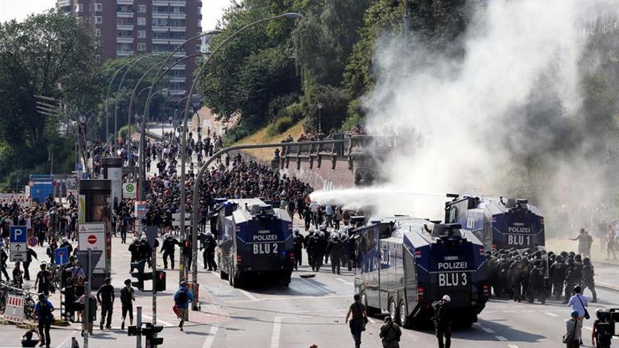 Alemania pide ayuda a sus socios europeos para detener a los extremistas del G20