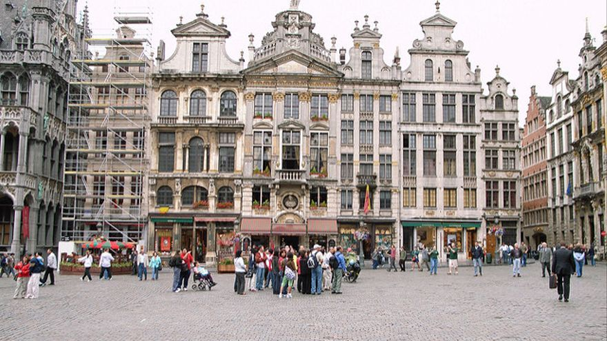 Imagen de la Grand Place de Bruselas.