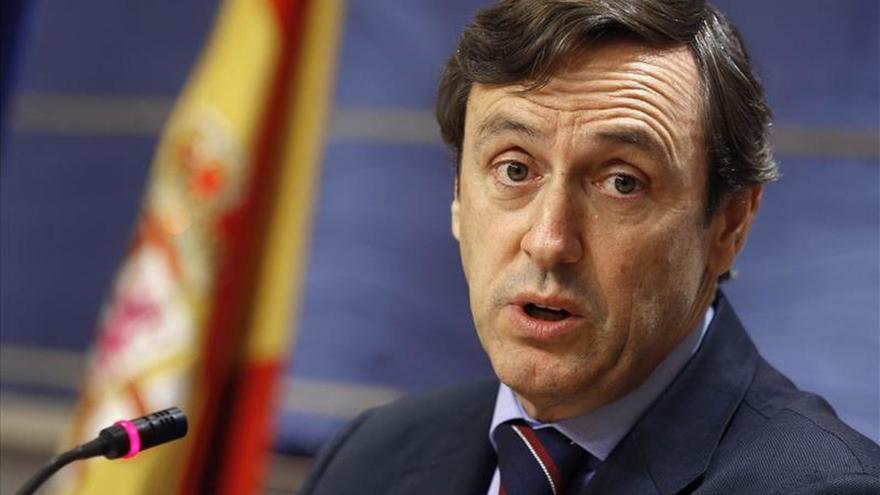 Hernando (PP): Es chocante que un exjemad milite en un partido como Podemos