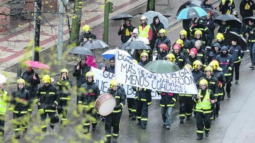 Protesta de los bomberos de Guadalajara / Nacho Izquierdo