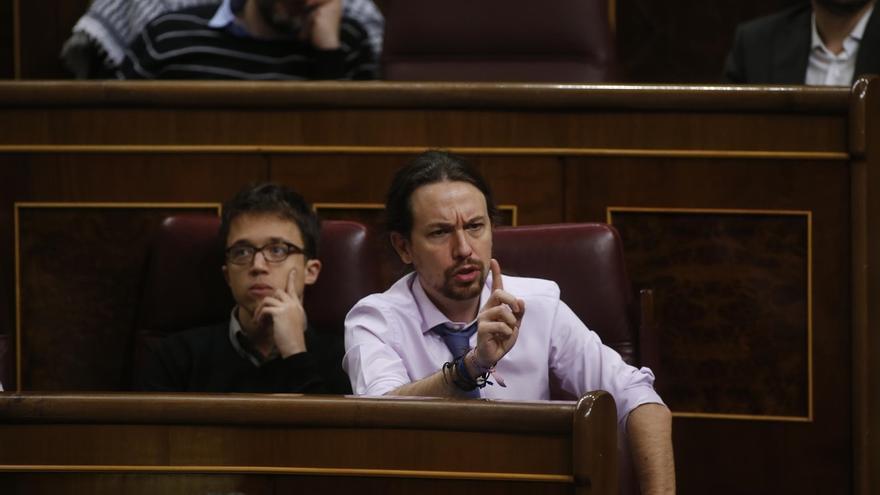 Pablo Iglesias echará en cara a Rajoy los casos de corrupción que afectan al PP en el próximo Pleno del Congreso