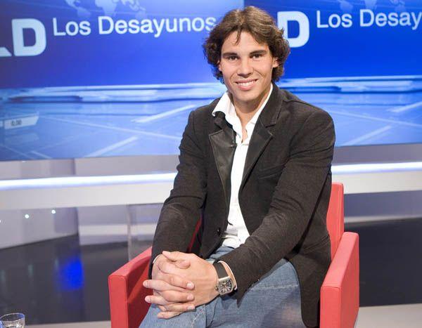 """Rafa Nadal en 'Los Desayunos': """"Jamás he cobrado por dar ninguna entrevista"""""""