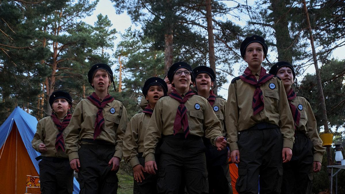Escena de la serie documental 'Edelweiss'