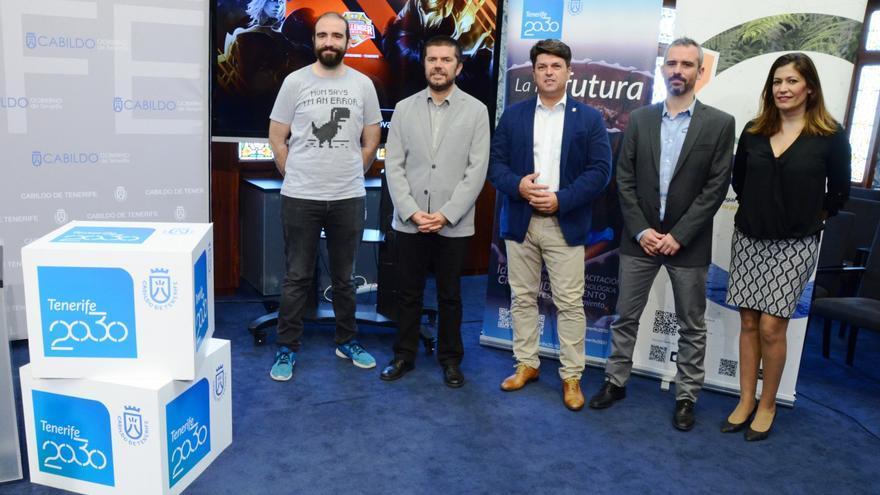 Presentación de la programación de la Liga de Videojuegos Profesional que se celebrará en Tenerife.