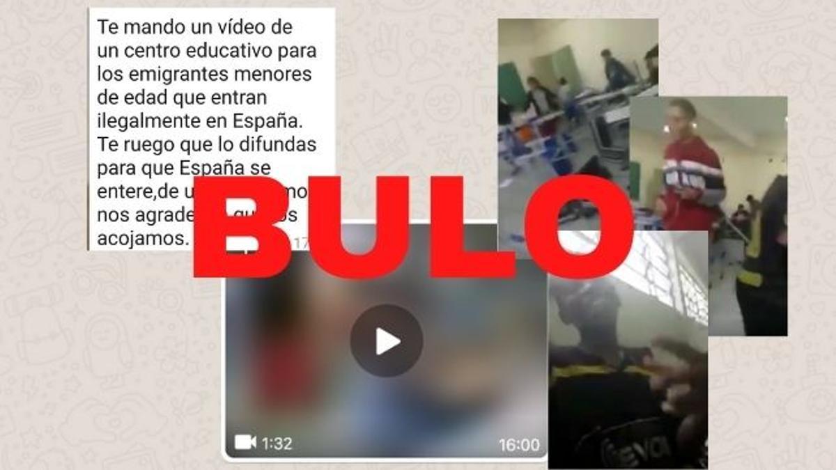 """No, este vídeo no es de un centro educativo para """"emigrantes menores de edad"""" llegados """"ilegalmente en España"""": está grabado en Brasil"""