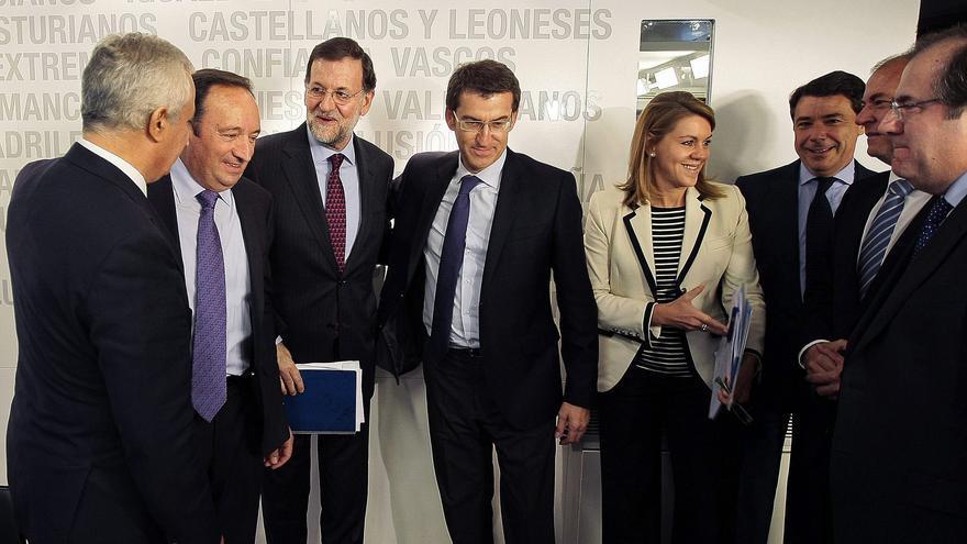 Rajoy y el PP apoyan a Basagoiti y ven en Galicia un respaldo a la austeridad