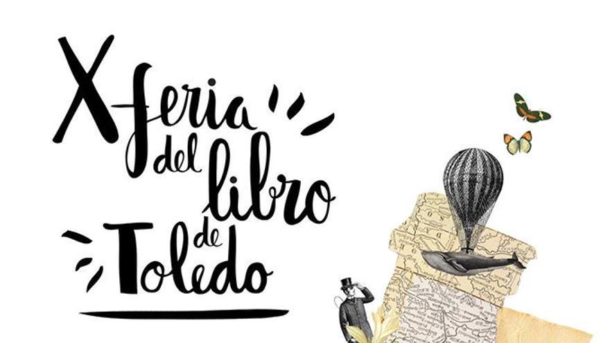 Cartel de la X Feria del Libro de Toledo, de Alicia Torres Sepúlveda