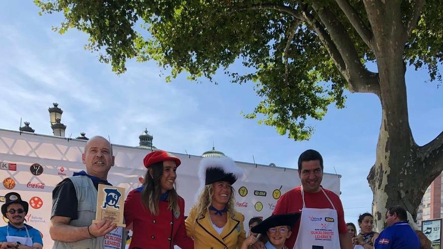 Un total de 56 cazuelas participan en el concurso de bacalao a la vizcaína de Aste Nagusia de Bilbao