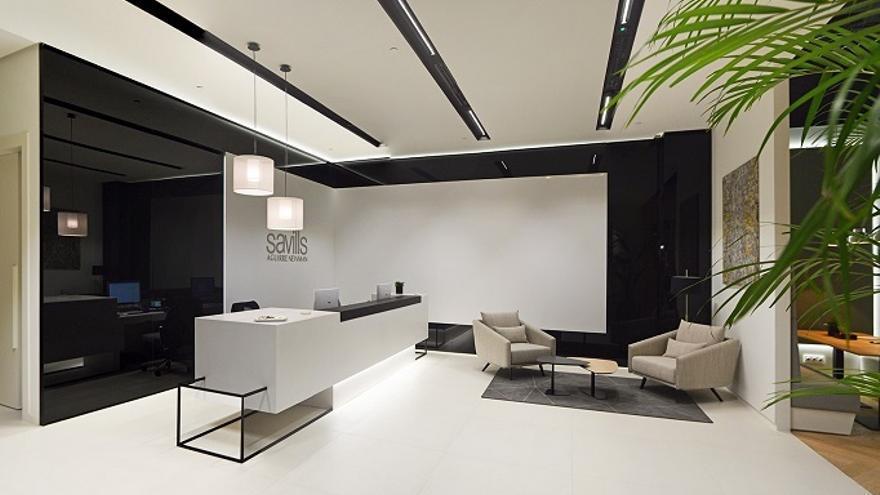 Oficinas de Savills Aguirre Newman en Madrid.