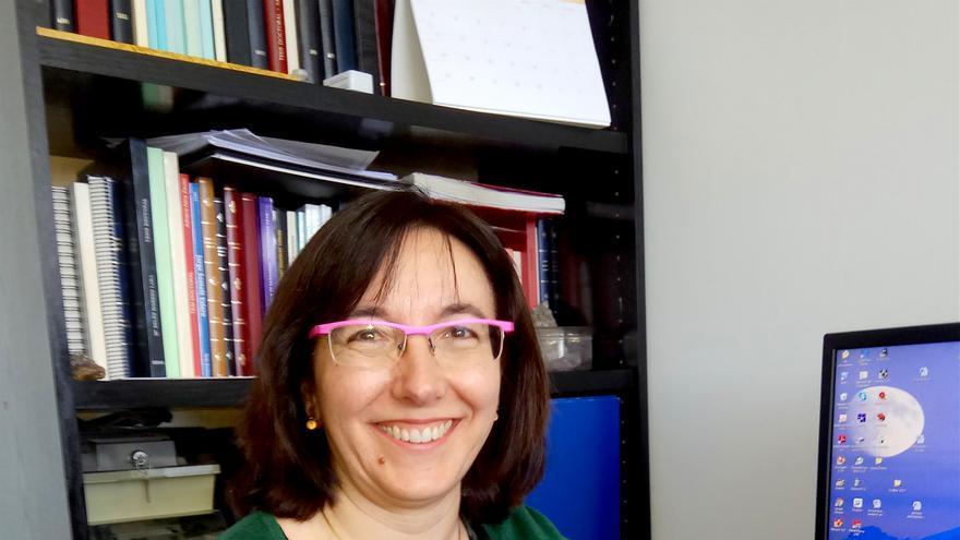 María Concepción Gimeno, investigadora del Instituto Universitario de Investigación de Síntesis Química y Catálisis Homogénea