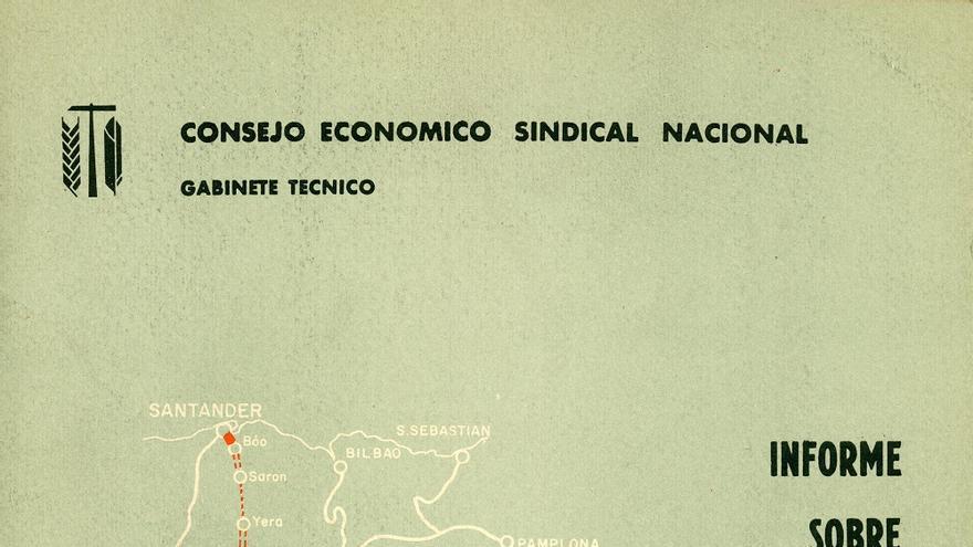 Informe sobre el Ferrocarril Santander-Mediterráneo. | DESMEMORIADOS
