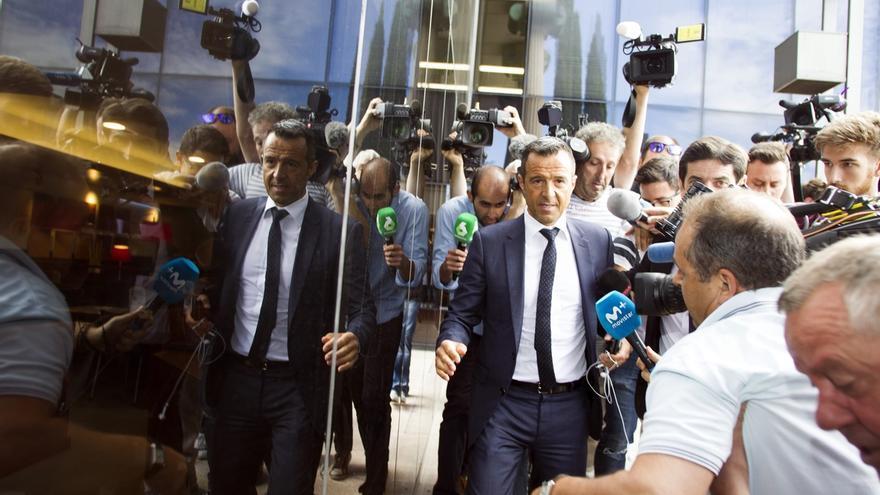 Jorge Mendes niega ante la juez que intervenga en los asuntos fiscales de sus representados