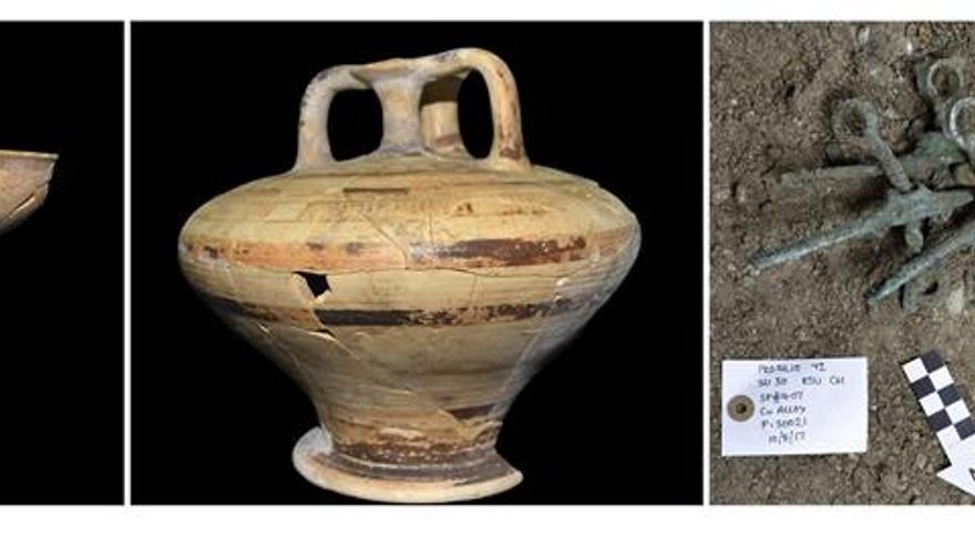 Arqueólogos griegos y británicos hallan una de las mayores tumbas micénicas