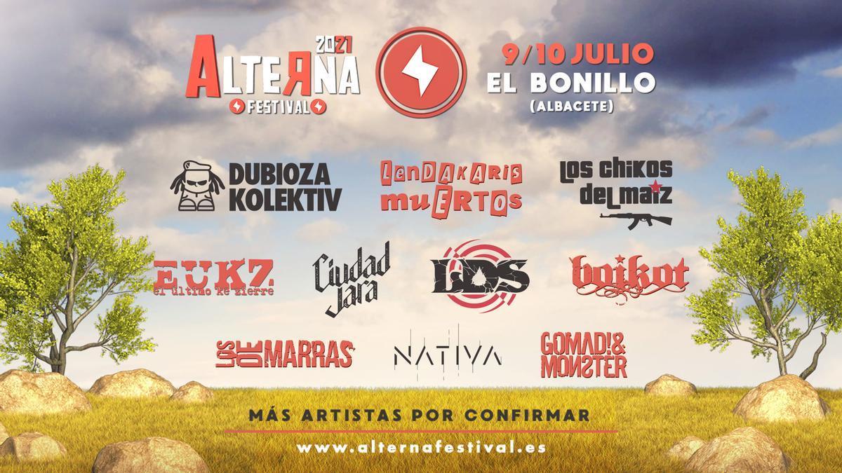 Alterna Festival 2021 aplazado