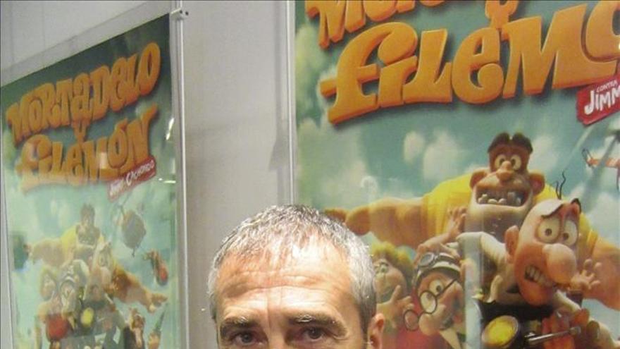 """Fesser dice que """"Mortadelo y Filemón"""" son más reales que quienes salen en los anuncios"""