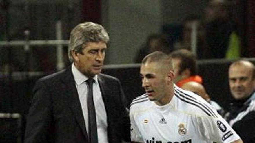 Benzema, autor del gol del Real Madrid. (REUTERS)