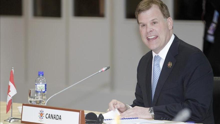 El ministro de Asuntos Exteriores canadiense anuncia su dimisión