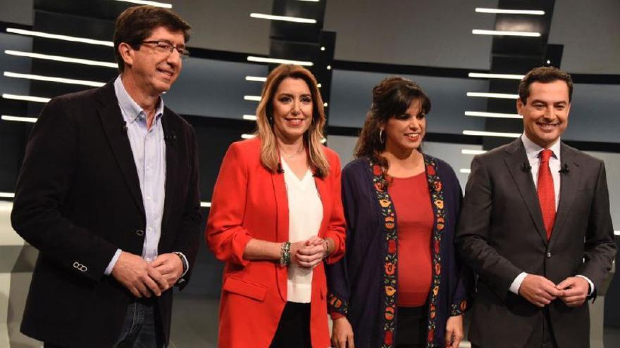 Los candidatos, preparados para el debate de RTVE