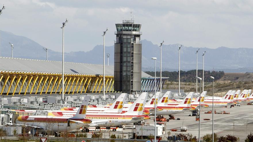 El aeropuerto de Madrid-Barajas pierde 10 millones de viajeros