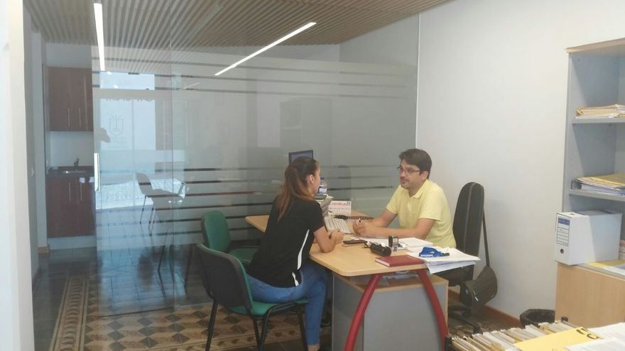Oficinas del Área de Juventud del Cabildo.
