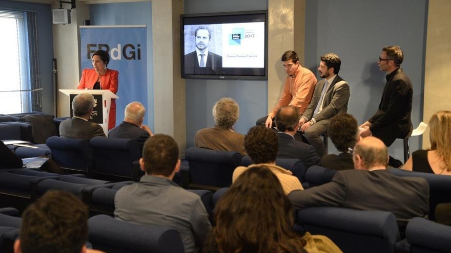 Damià Tormo Carulla, Premio Fundación Princesa de Girona Empresa 2017