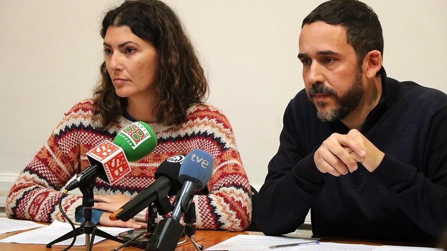 María José Roca y Rubens Ascanio, concejales de Unidos Se Puede