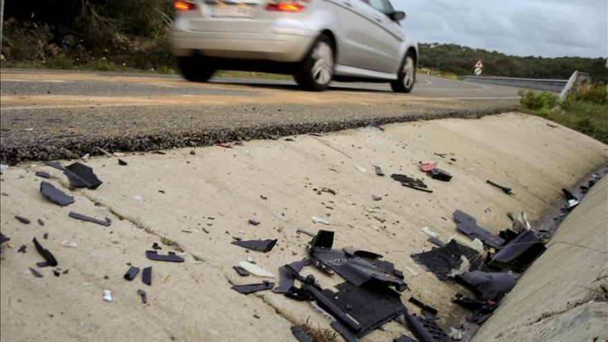 Seis de los diez muertos en las carreteras este fin de semana eran motoristas