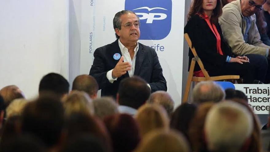 Antonio Alarcó en la presentación celebrada el jueves día 30 de abril.