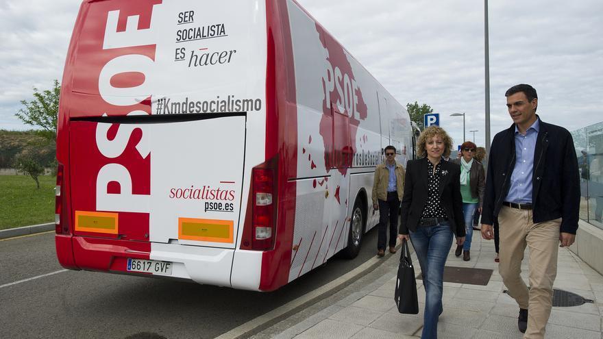 Eva Díaz Tezanos ha viajado este miércoles a Madrid para mantener un encuentro con Pedro Sánchez dentro de la ronda de contactos que el secretario general del partido está manteniendo con todos los líderes autonómicos.