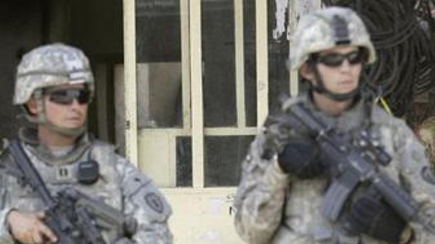 Soldados de EEUU patrullan en Irak. (EUROPA PRESS)