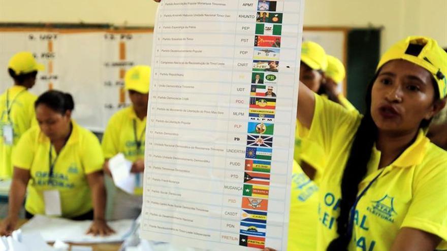 El Fretilin lidera los comicios en Timor Oriental con el 65 % escrutado