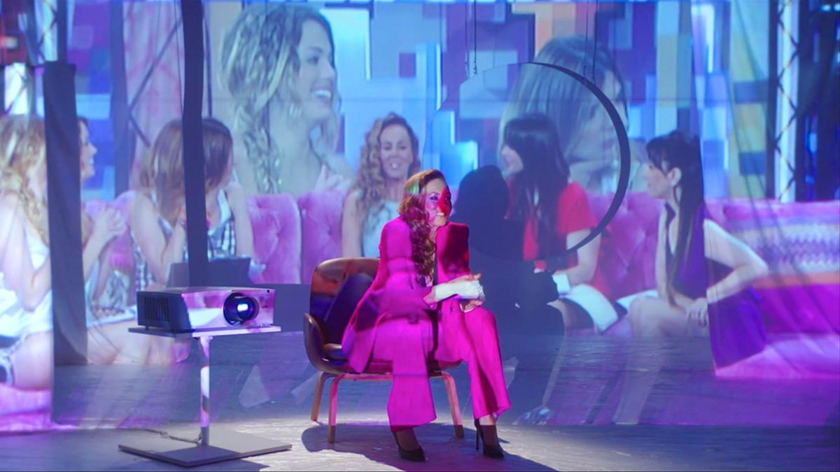 Rocío recuerda su paso por 'Hable con ellas'