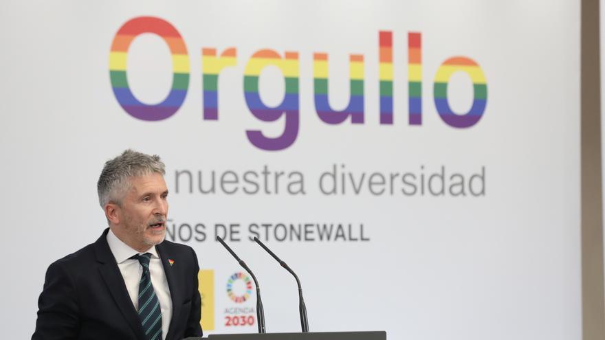 """Marlaska critica a Cs por """"pactar de forma obscena con quien limita derechos LGTBI"""": """"Eso debe tener consecuencias"""""""