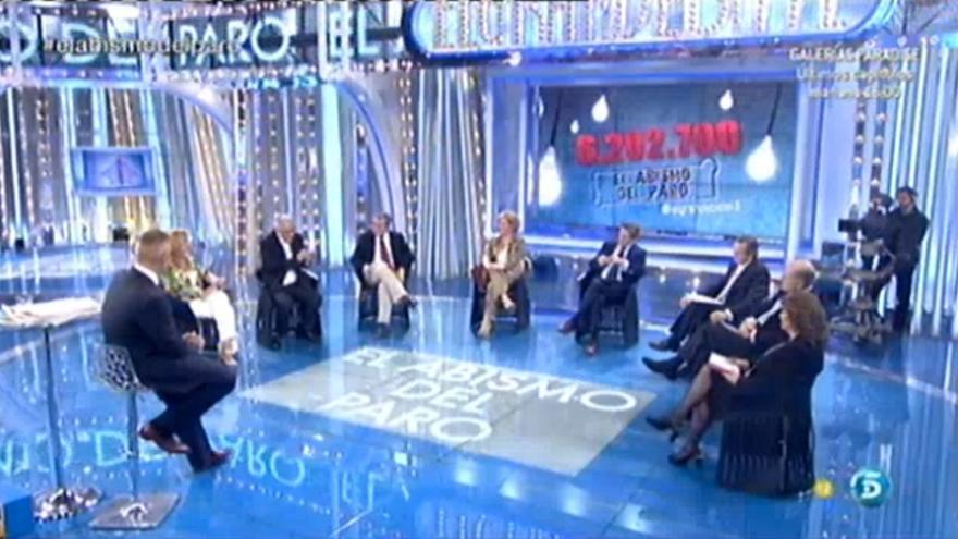 El gran debate, de Telecinco.