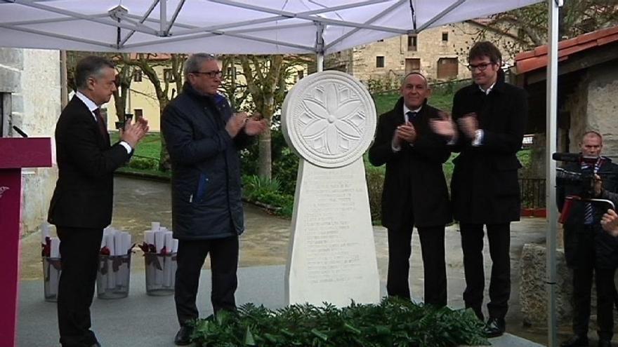 """Urkullu reivindica la memoria y el """"compromiso"""" de las víctimas del franquismo con la democracia y la libertad"""