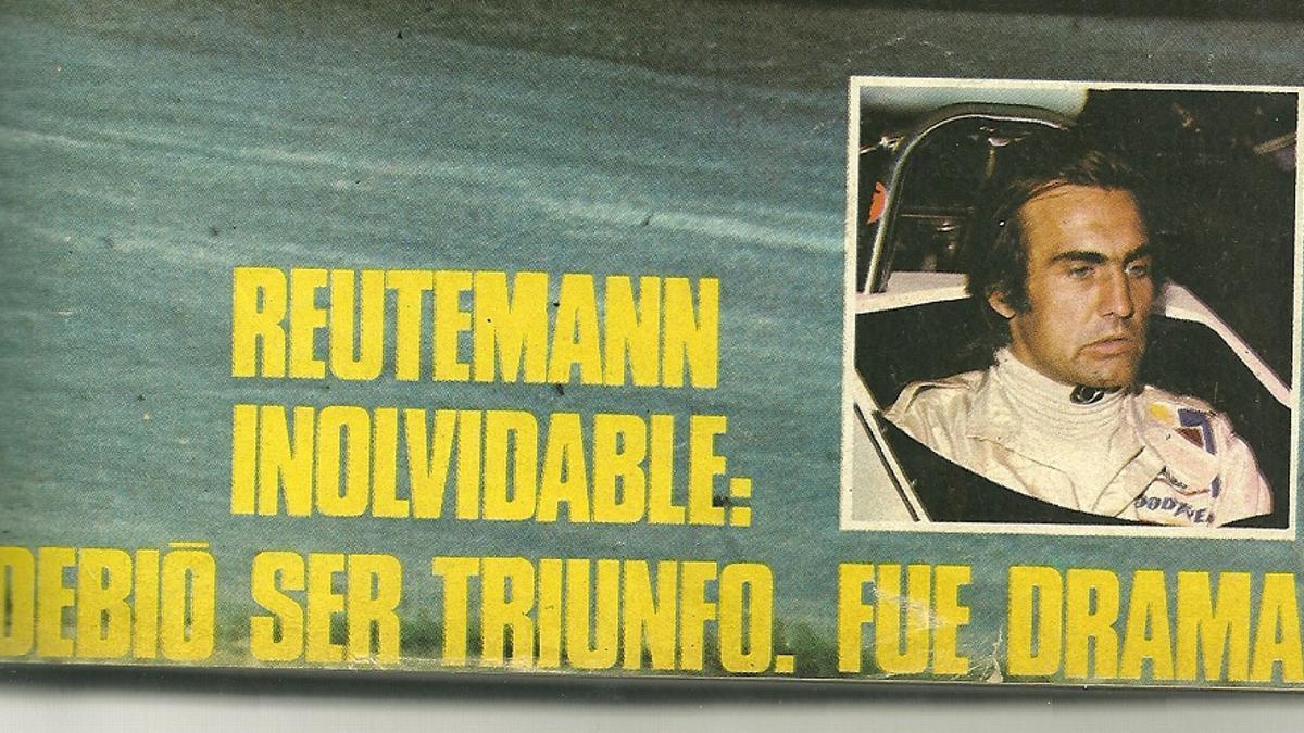 Portada de la revista El Gráfico de enero de 1974.