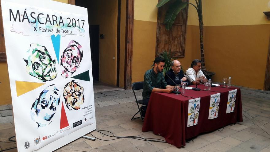 Presentación del festival en la Casa de los Cáceres, en Icod este martes