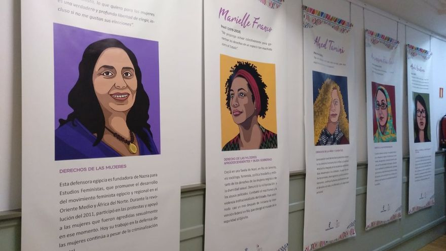 """Exposición itinerante """"Defensoras. Mujeres que trasforman"""""""
