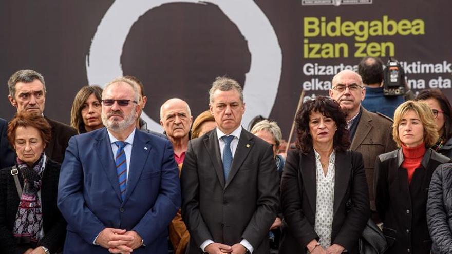 """Urkullu proclama solemne que el sufrimiento de las víctimas """"fue injusto"""""""