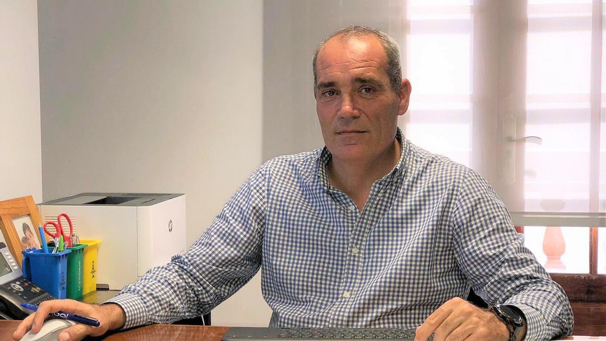 Gonzalo Pascual, consejero de Innovación y Nuevas Tecnologías y Ordenación del Territorio del Cabildo de La Palma.
