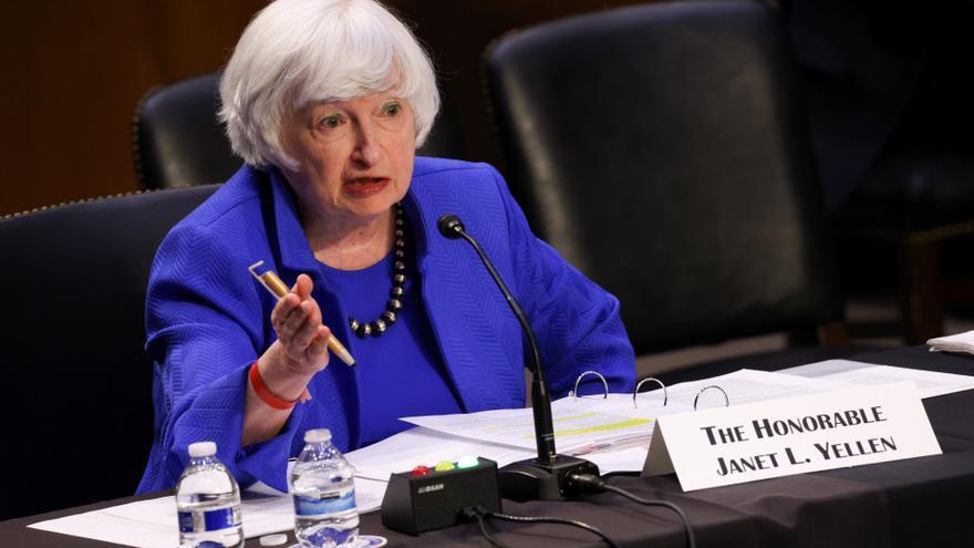 """Yellen y Powell reconocen que la inflación en EE.UU. durará """"más de lo esperado"""""""