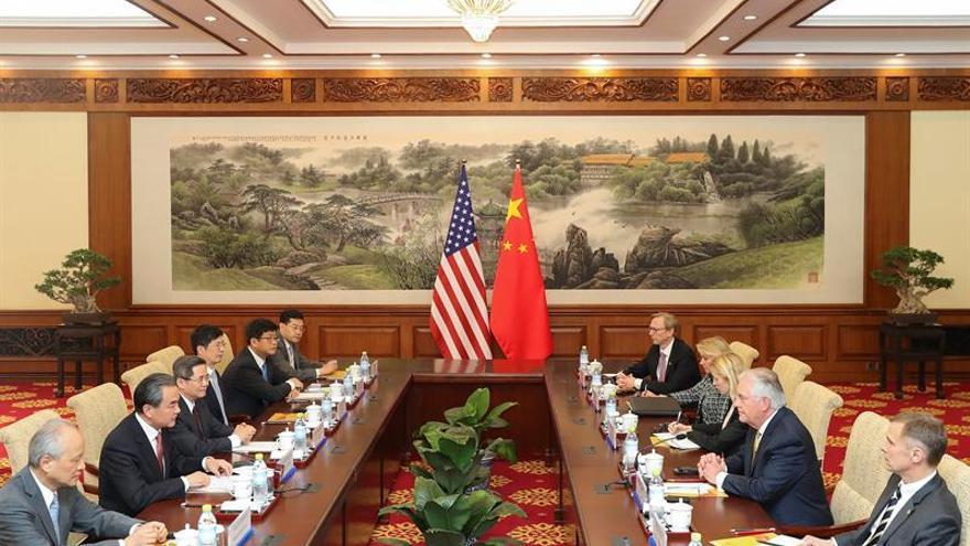 Tillerson llega a China en busca de un nuevo plan contra Corea del Norte