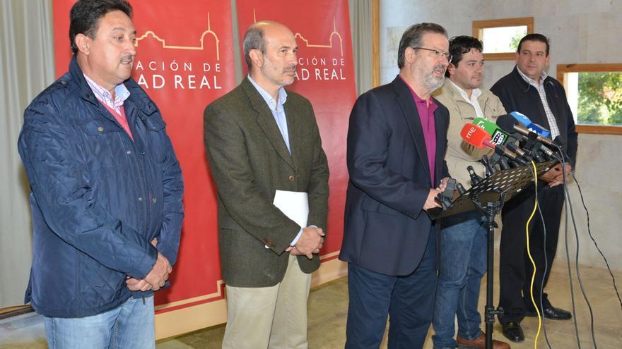Gobierno de la Diputación de Ciudad Real en la finca Galiana / Foto: Diputación
