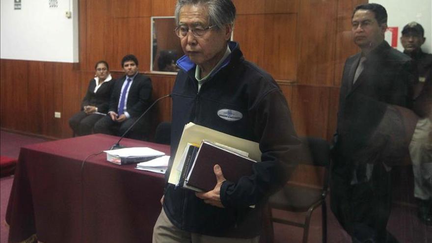 Fujimori pide el arresto domiciliario para evitar morir en prisión
