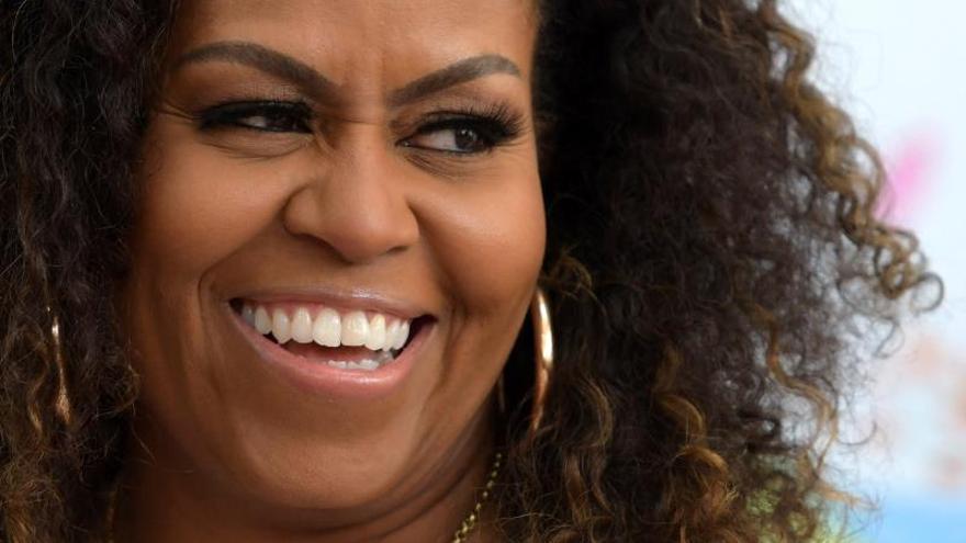 Michelle Obama se cuela entre los ganadores de los Grammy