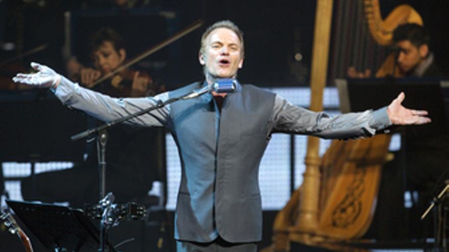 Sting en su nueva gira mundial