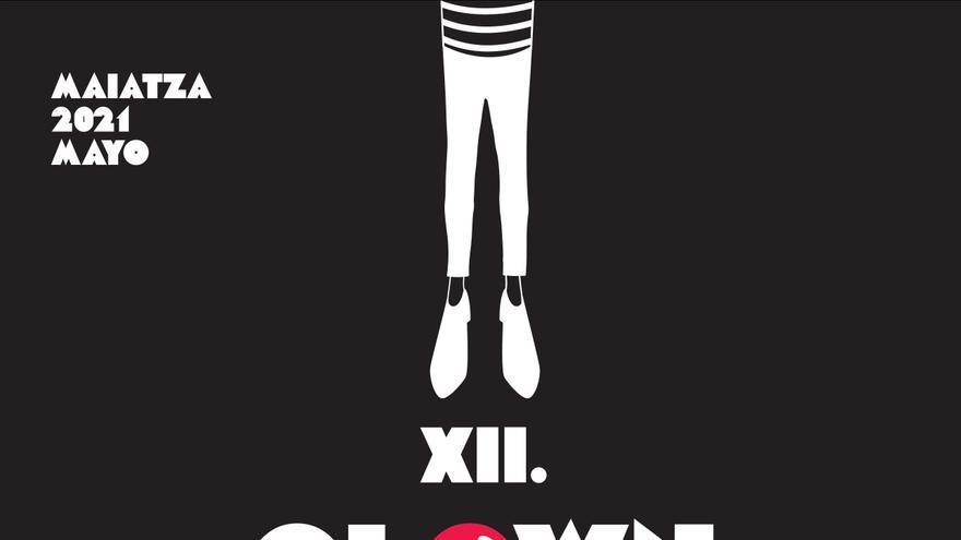 Cartel del programa 'Clown Zorrotza' en Bilbao